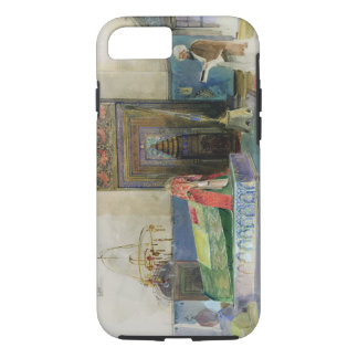 Tomb of Bayazid I, Bursa, Turkey (w/c on paper) iPhone 7 Case