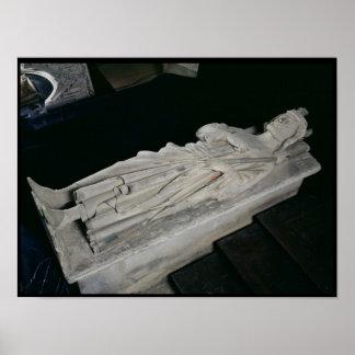 Tomb of Charles Martel Print