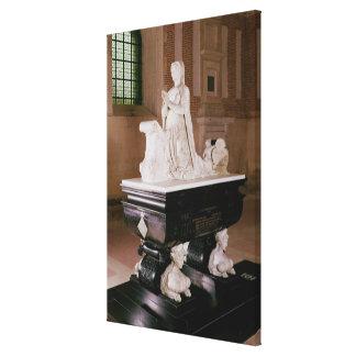 Tomb of Diane de Poitiers Canvas Print