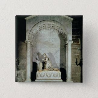 Tomb of Empress Josephine  1825 15 Cm Square Badge