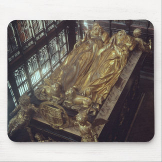 Tomb of Henry VII  and his Wife Mouse Mat