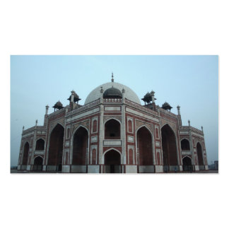 Tomb of Humayun Delhi India Double-Sided Standard Business Cards (Pack Of 100)