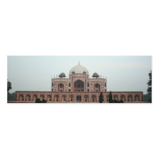 Tomb of Humayun Delhi India Business Card Template