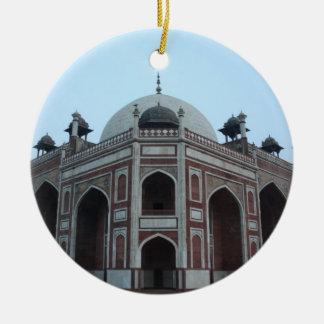 Tomb of Humayun Delhi India Round Ceramic Decoration