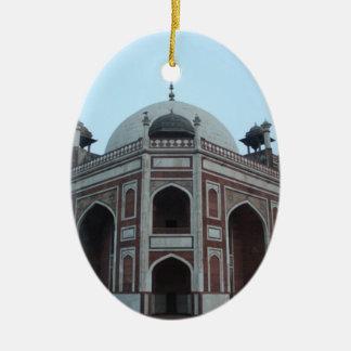 Tomb of Humayun Delhi India Ceramic Oval Decoration