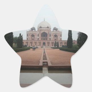 Tomb of Humayun Delhi India Star Sticker