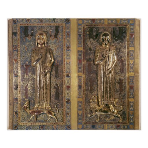 Tomb of Jean  and Blanche  of France Print