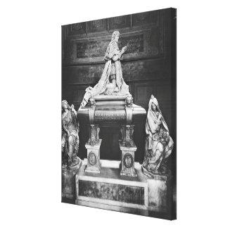 Tomb of Jean-Baptiste Colbert de Torcy Canvas Print