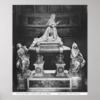 Tomb of Jean-Baptiste Colbert de Torcy Poster