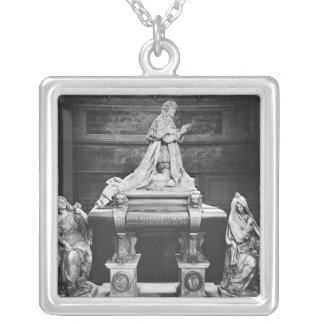 Tomb of Jean-Baptiste Colbert de Torcy Silver Plated Necklace