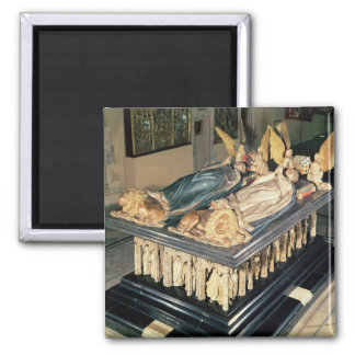 Tomb of John the Fearless  and Margaret of Refrigerator Magnet