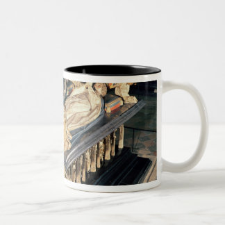 Tomb of John the Fearless  and Margaret of Two-Tone Coffee Mug