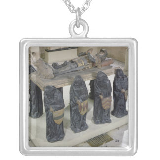 Tomb of Philippe Pot Silver Plated Necklace