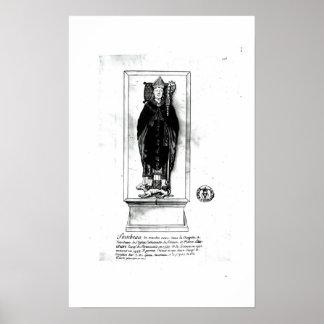 Tomb of Pierre Cauchon Poster