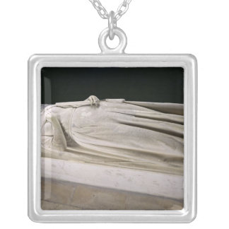 Tomb of Queen Berthe Silver Plated Necklace