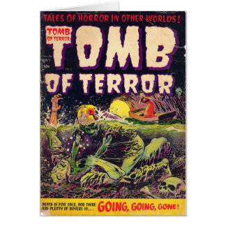 Tomb of Terror Going Going Gone Horror Comic Book Card