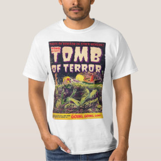 Tomb of Terror Going Going Gone Horror Comic Book T-Shirt