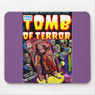 Tomb of Terror The Closet Mousepad