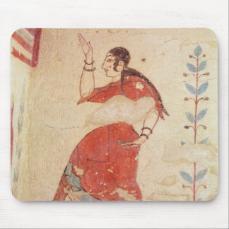 Tomb of the acrobats, detail of a dancer mouse mat
