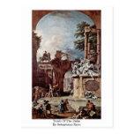 Tomb Of The Duke By Sebastiano Ricci Postcards