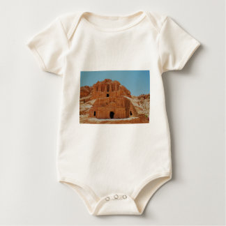 Tomb of the obelisks Petra Baby Bodysuit
