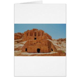 Tomb of the obelisks Petra Card