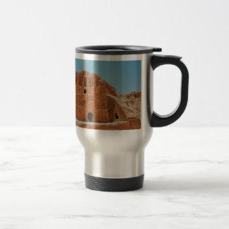 Tomb of the obelisks Petra Travel Mug