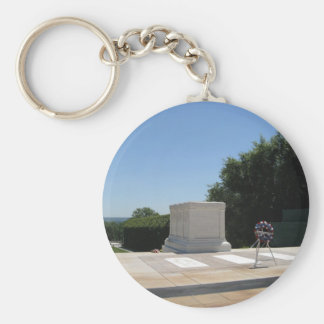 Tomb of the Unknown Soldier Basic Round Button Key Ring