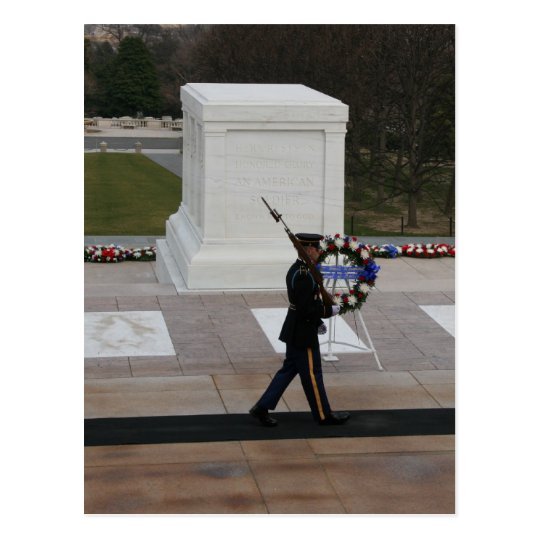 Tomb of the Unknown Soldier Postcard