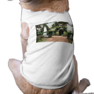 Tomb President George Washington  Mt. Vernon Sleeveless Dog Shirt