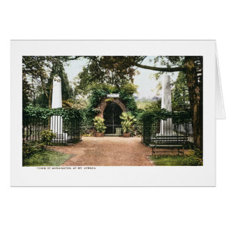 Tomb President George Washington  Mt. Vernon Greeting Card