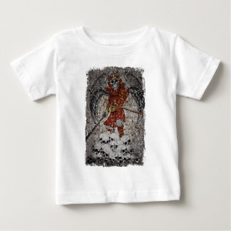 Tomb Stone Scary King Baby T-Shirt