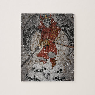 Tomb Stone Scary King Jigsaw Puzzle