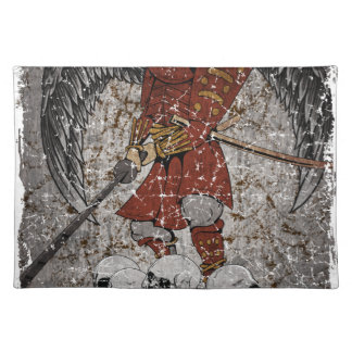 Tomb Stone Scary King Placemat