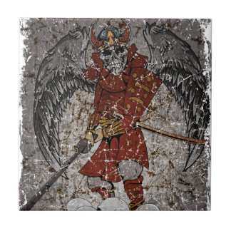 Tomb Stone Scary King Tile