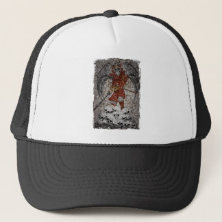 Tomb Stone Scary King Trucker Hat
