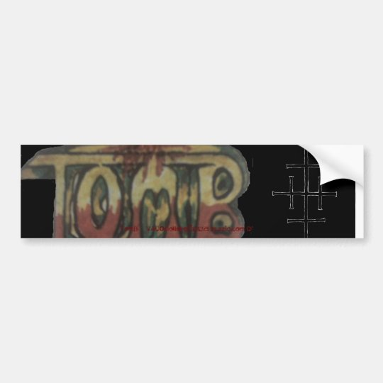 tombcl2, InvertedQuadrifixion, TomB@VACOclothin... Bumper Sticker