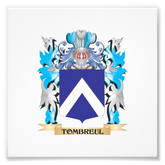 Tombreul Coat of Arms - Family Crest Photograph