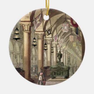 Tombs of the Knights Templar, c.1820-39 (aquatint) Christmas Ornament