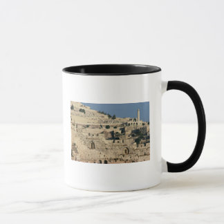 Tombs on the side of the Mount of Olives Mug