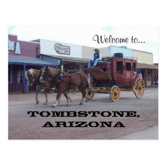 Tombstone, Az Postcard