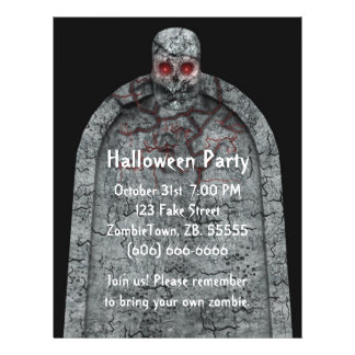 Tombstone - Halloween Flyer