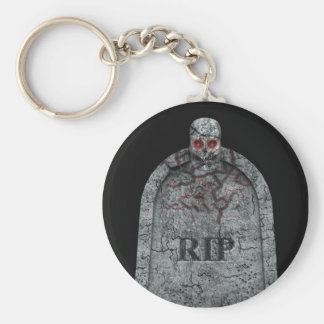 Tombstone - Halloween Keychain