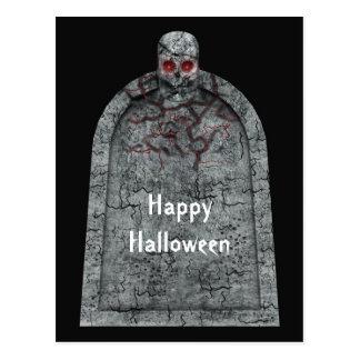 Tombstone - Halloween Postcard