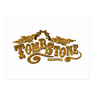 Tombstone Saloon Postcard