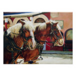 Tombstone Stagecoach Horses Print