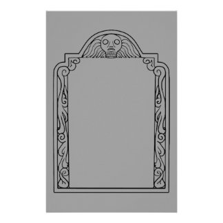 Tombstone Stationery