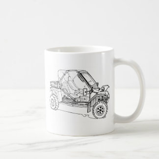 Tomcar TM5 Basic White Mug