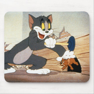Tome And Jerry Plunger Mouse Mat