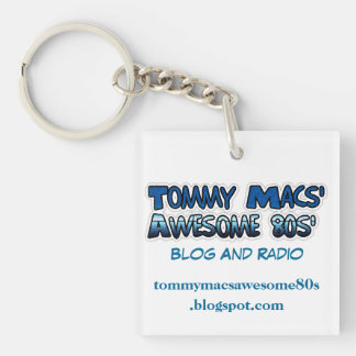 Tommy Macs' Awesome 80s' Key Chain